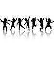 Dancing babies vector image