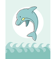 Animal series Dolphin vector image vector image
