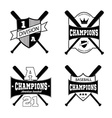 American sporting design elements vector image vector image