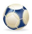 Ball soccer vector image