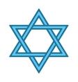Jew star icon vector image