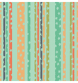 pattern strips stars green vector image