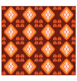 Seamless Mexican Fabric Design vector image vector image