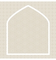 Islamic card vector image