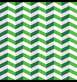 Green Chevron Seamless Pattern vector image