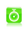 chronometer icon vector image vector image