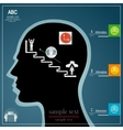 infographics people vector image