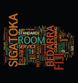 bedroom decor text background word cloud concept vector image
