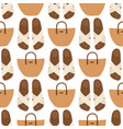 hand bag female fashion seamless pattern vector image