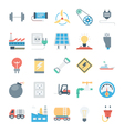 Energy and Power Icons 7 vector image
