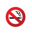 2008184 no smoking sign 2 vector image
