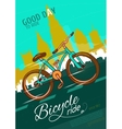 Bicycle Ride Poster vector image