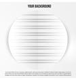 abstract circles template web design vector image