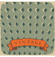 circus retro background vector image