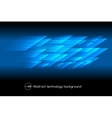 Abstract hi tech blue background vector image