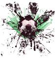 Grunge Soccer4 vector image