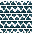 big mountains pattern background vector image