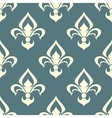 Seamless floral pattern with arabesque element vector image