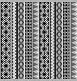 ethnic geometric motifs background vector image