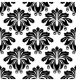 Bold dainty floral seamless pattern vector image vector image