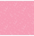 Seamless Pattern with Stylized Hearts vector image vector image