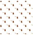 brown cezve pattern vector image