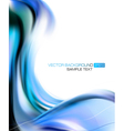 Abstract Blue Elegant Background vector image