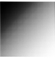 abstract dotted background halftone effect vector image