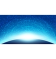 Space sky background vector image vector image