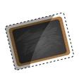 classic school blackboard vector image