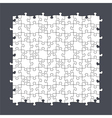 Seamless Puzzle Template vector image