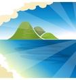 Tropical islands dreams vector image