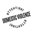 Domestic Violence rubber stamp vector image vector image