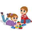 Preschooler vector image