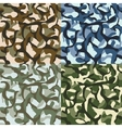 Army camouflage hunter combat camo vector image