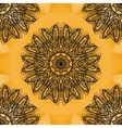 Indian Art Print Yoga Ornament kaleidoscopic vector image