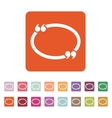 The Quotation Mark Speech Bubble icon Quotes vector image