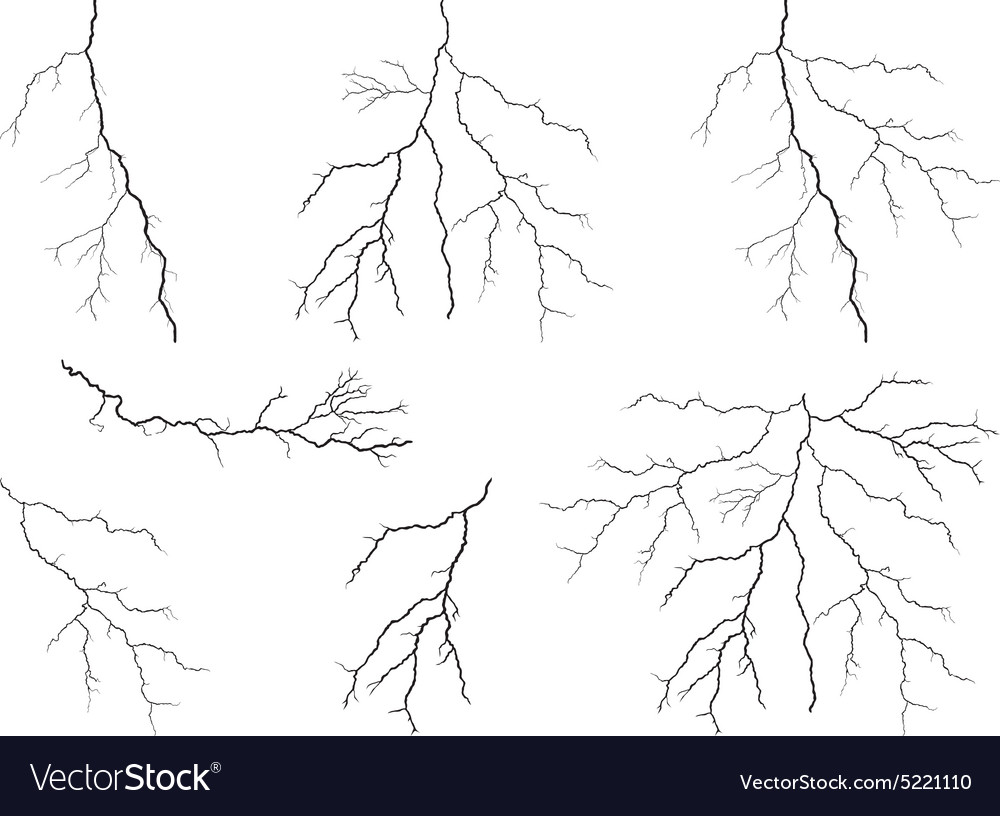 Lightning collection vector