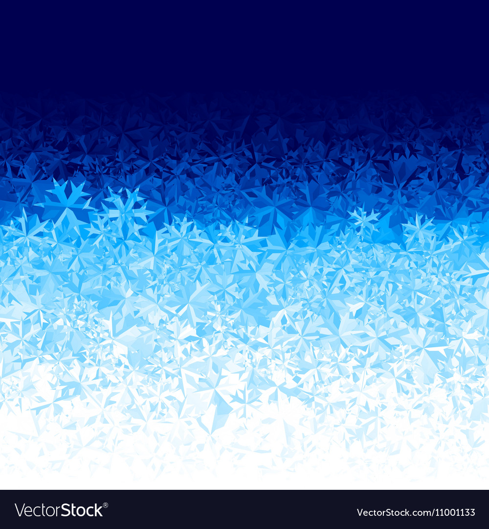 Blue ice background vector