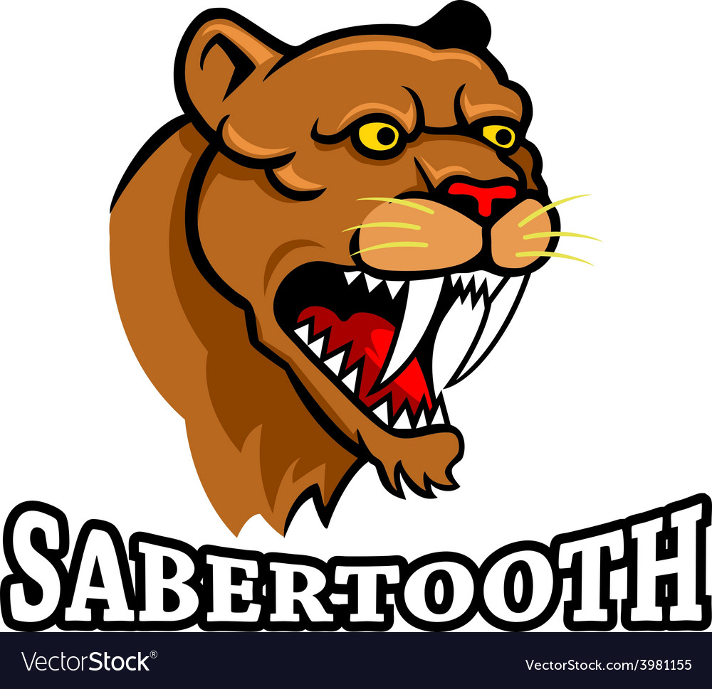 Sabertooth vector