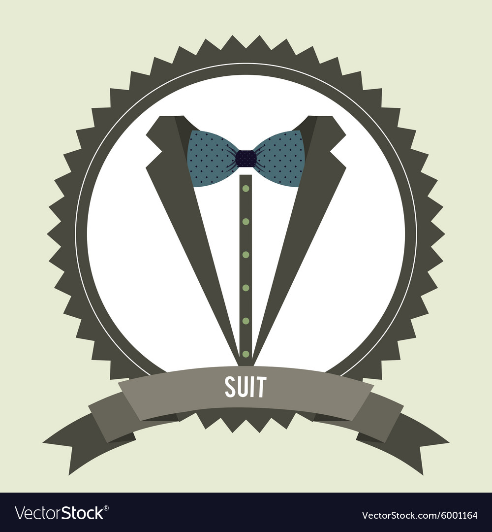Menswear fashion vector