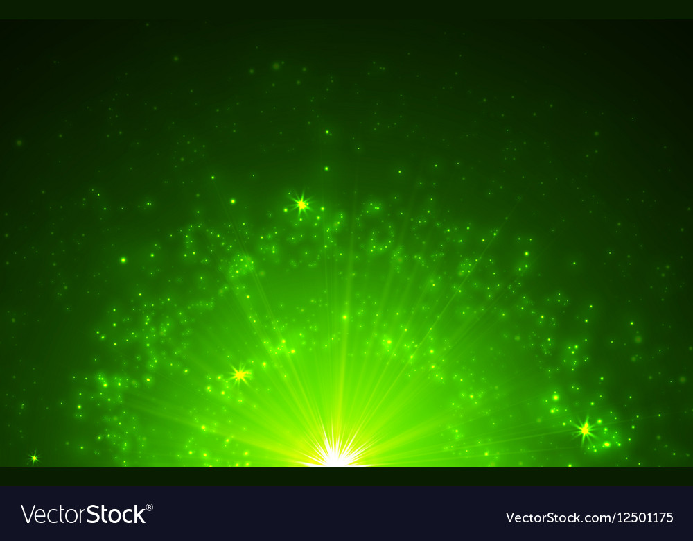 Abstract background with falling star and vector