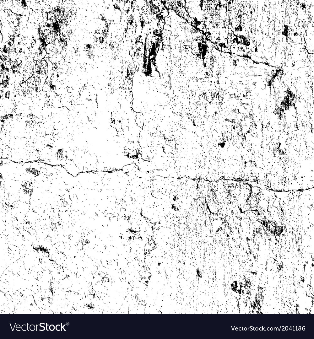 Distressed plaster texture vector
