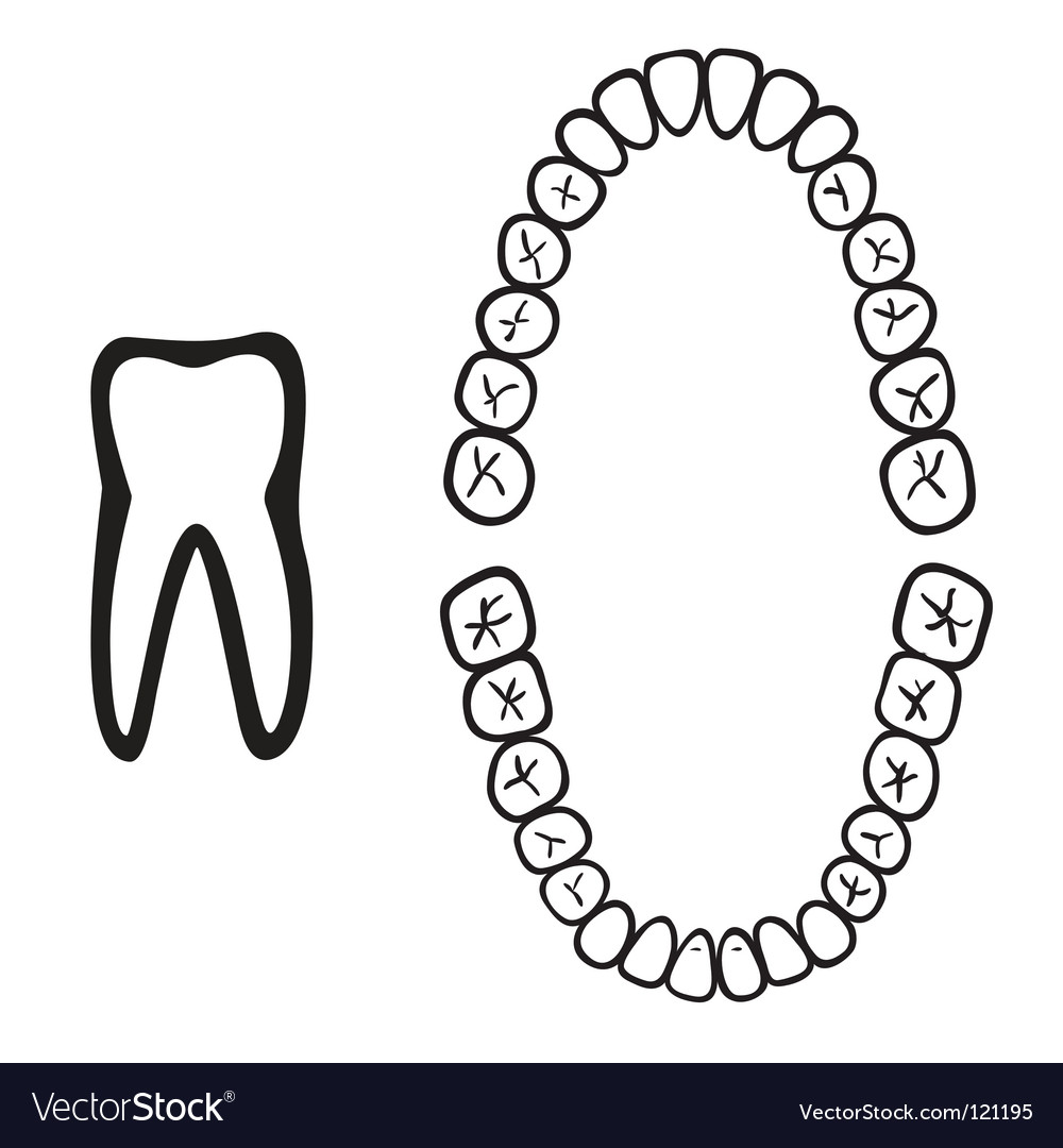 Dentist logo vector