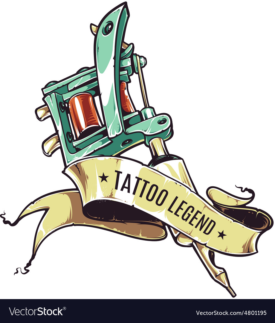 Tattoo legend vector