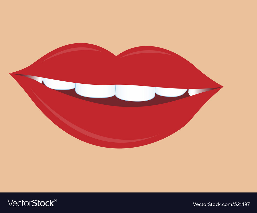 Women lips vector