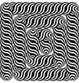 Design monochrome labyrinth pattern vector image