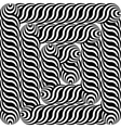 Design monochrome labyrinth pattern vector image