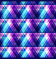 purple triangle seamless pattern vector image