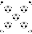 Universal football seamless patterns tiling vector image
